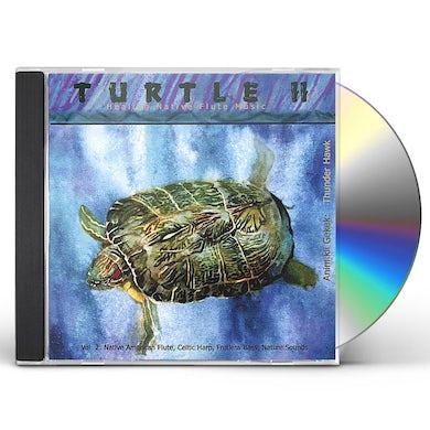 Dennis Hawk TURTLE II HEALING NATIVE FLUTE MUSIC CD