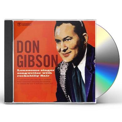 Don Gibson LONESOME SINGER SONGWRITER CD