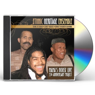 Ethnic Heritage Ensemble MAMA'S HOUSE LIVE CD