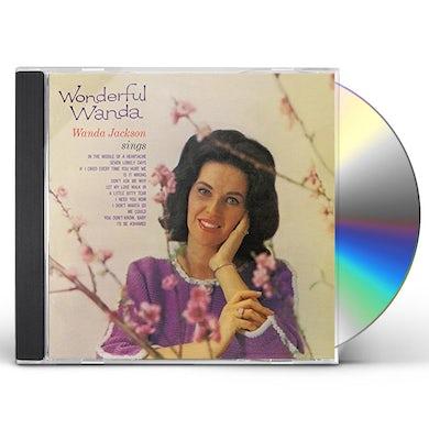 Wanda Jackson WONDERFUL WANDA & LOVIN' COUNTRY STYLE CD