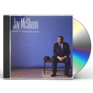 Jay McShann WHAT A WONDERFUL WORLD Super Audio CD