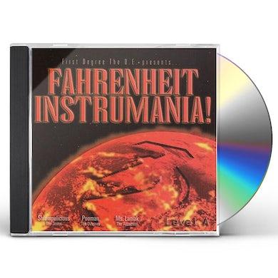 First Degree The DE FARENHEIT INSTRUMANIA CD