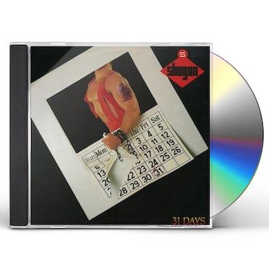 Shogun 31 DAYS CD