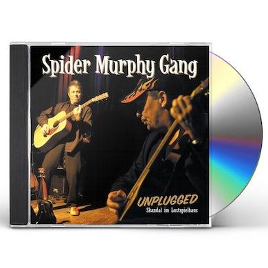 Spider Murphy Gang UNPLUGGED SKANDAL I'M LUSTSPIELHAUS CD