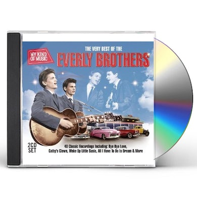 The Everly Brothers MY KIND OF MUSIC-BEST OF CD