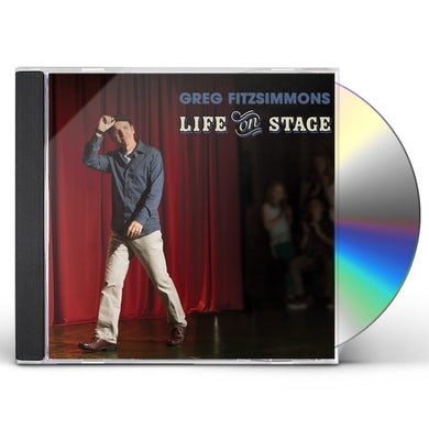 Greg Fitzsimmons LIFE ON STAGE CD