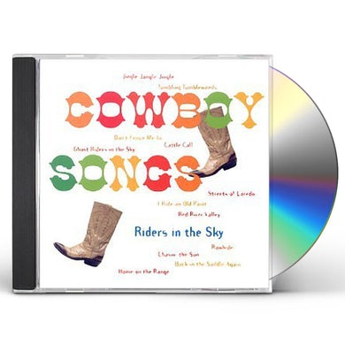 Riders In the Sky COWBOY SONGS CD