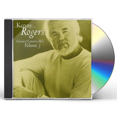 Kenny Rogers GREATEST COUNTRY HITS 3 CD