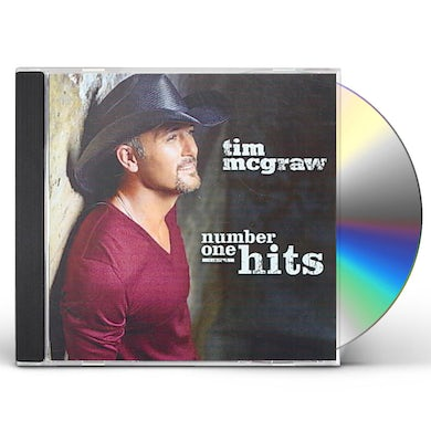 Tim McGraw NUMBER ONE HITS CD
