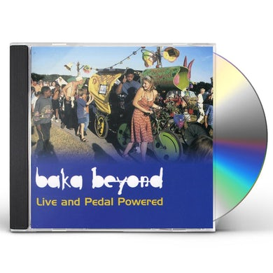 LIVE & PEDAL POWERED CD