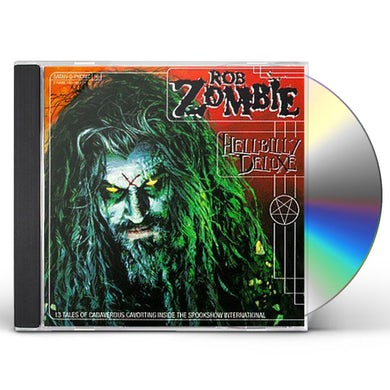Rob Zombie HELLBILLY DELUXE CD