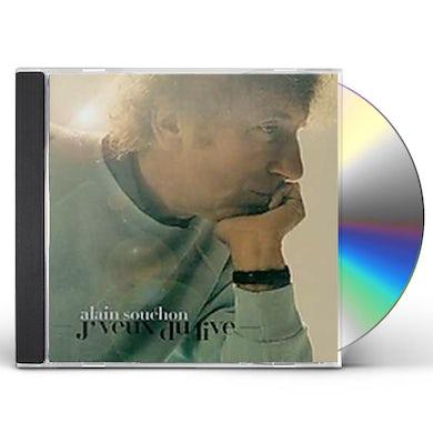 Alain Souchon J'VEUX DU LIVE CD