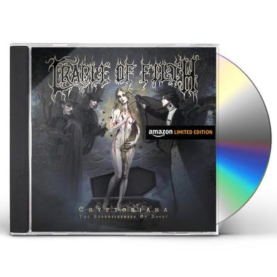 Cradle Of Filth CRYPTORIANA: THE SEDUCTIVENESS OF DECAY CD