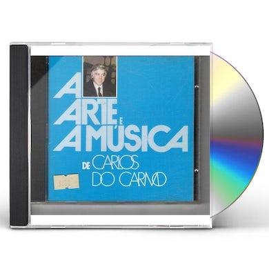 Carlos do Carmo ARTE E A MUSICA DE C.CARMO CD