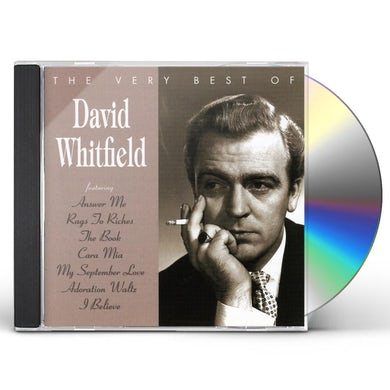 David Whitfield VERY BEST OF CD