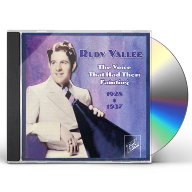 Rudy Vallee VOICE THAT HAD THEM FAINTING 1928-1937 CD