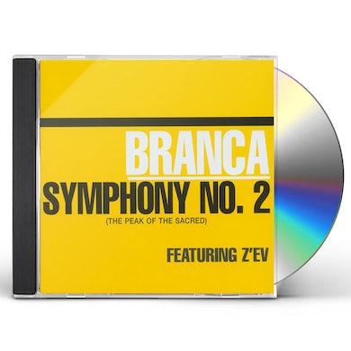 Glenn Branca SYMPHONY 2: PEAK OF THE SACRED CD