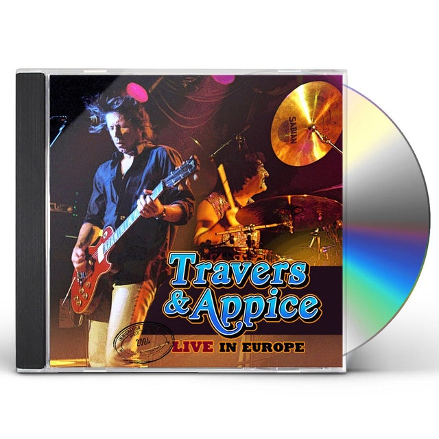 Travers & Appice LIVE IN EUROPE CD