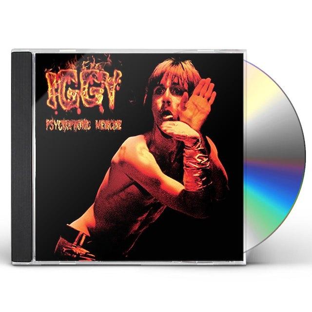 Iggy and the Stooges PSYCHOPHONIC MEDICINE CD