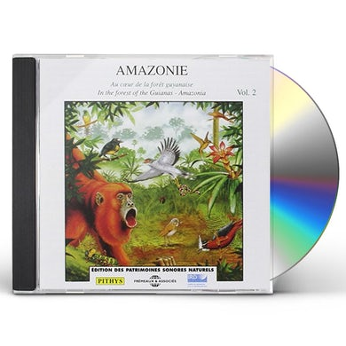 Sounds of Nature V2: AMAZONIE CD