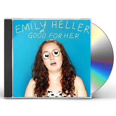 Emily Heller GOOD FOR HER CD