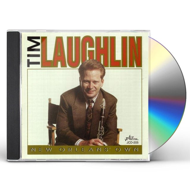 Tim Laughlin NEW ORLEANS OWN CD