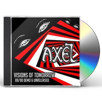 Axel VISIONS OF TOMORROW CD