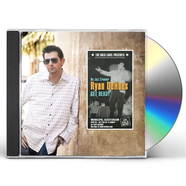 Ryan DeHues GET READY CD