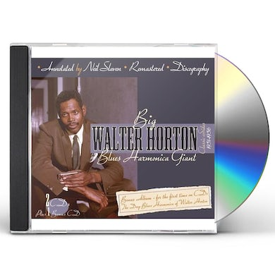 Walter Horton BLUES HARMONICA GIANT CD
