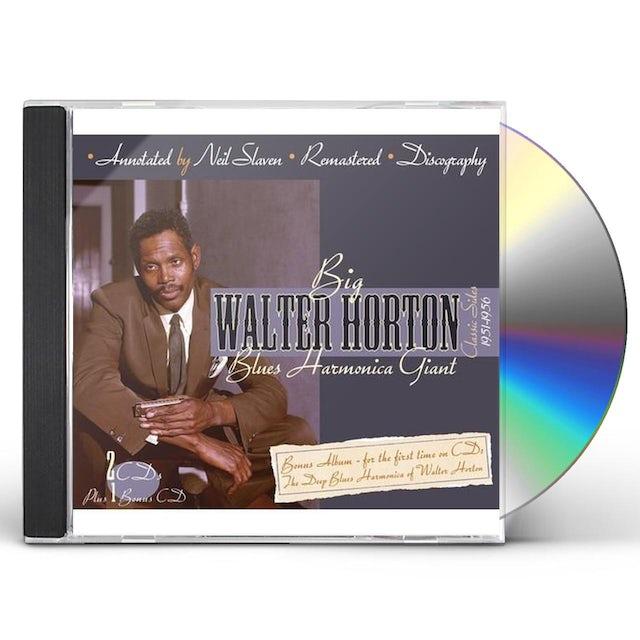 Walter Horton BLUES HARMONICA GIANT CD