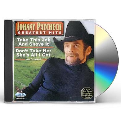 Johnny Paycheck GREATES HITS CD