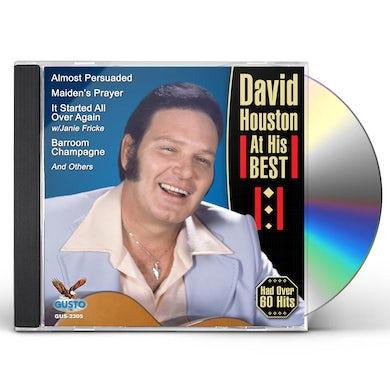 David Houston AT HIS BEST CD