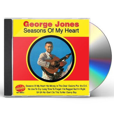 George Jones SEASONS OF MY HEART CD