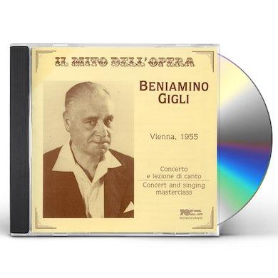 Beniamino Gigli SINGING MASTER CLASS CD