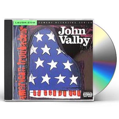 John Valby AMERICAN TROUBADOUR CD