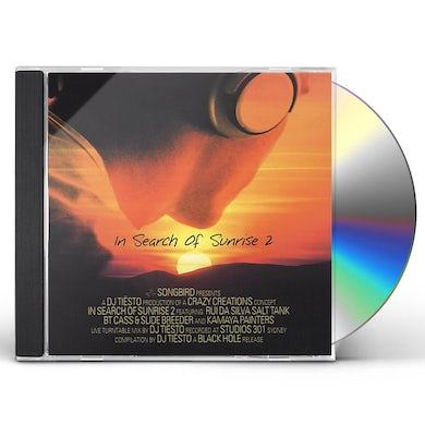 Dj Tiesto IN SEARCH OF SUNRISE 2 CD