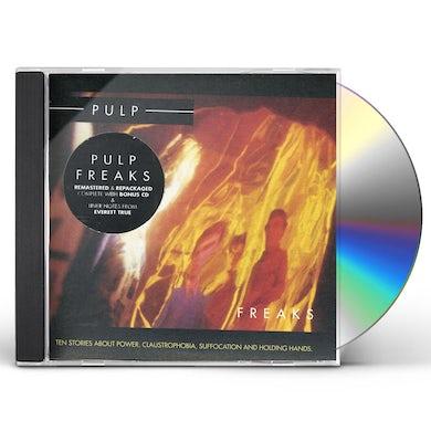 Pulp FREAKS CD