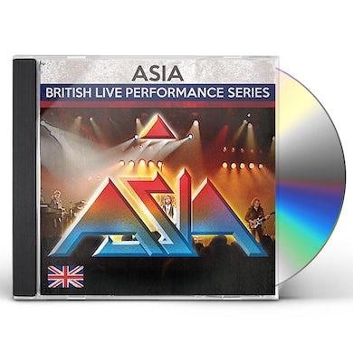Asia BRITISH LIVE PERFORMANCE SERIES CD