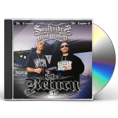 SouthSide's Most Wanted RETURN CD