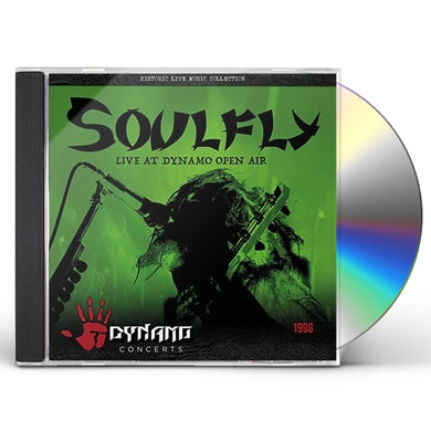 Soulfly LIVE AT DYNAMO OPEN AIR 1998 CD