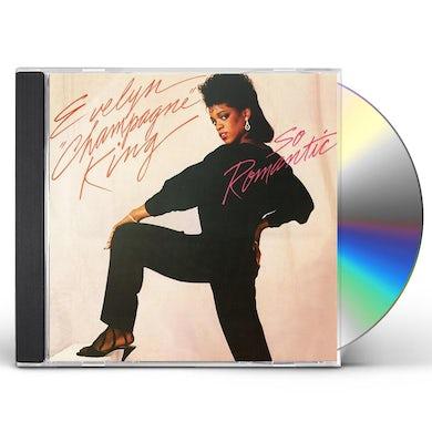 Evelyn King SO ROMANTIC (BONUS TRACKS EDITION) CD
