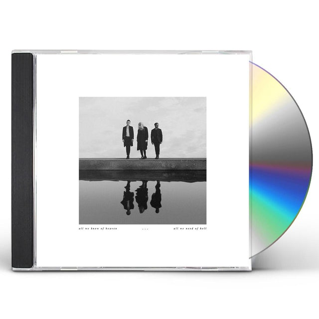Pvris ALL WE KNOW OF HEAVEN ALL WE NEED OF HELL CD