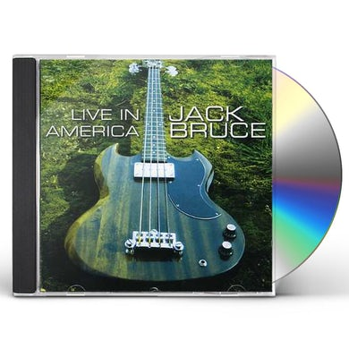 Jack Bruce LIVE IN AMERICA CD
