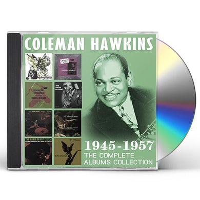 Coleman Hawkins COMPLETE ALBUMS COLLECTION: 1945-1957 CD