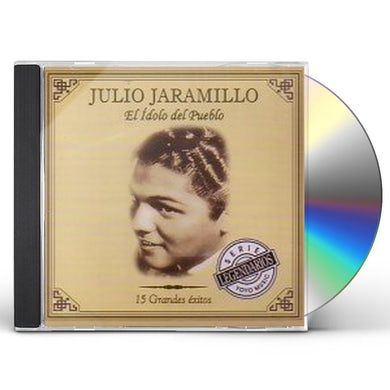Julio Jaramillo IDOLO DEL PUEBLO: 15 GRANDES EXITOS CD
