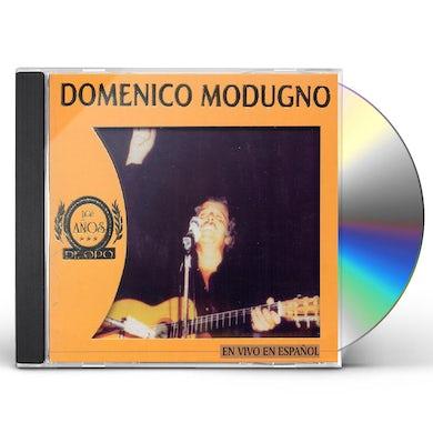 Domenico Modugno EN VIVO EN ESPANOL CD