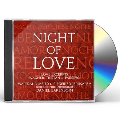 Daniel Barenboim WAGNER: NIGHT OF LOVE CD