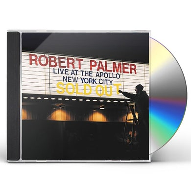 Robert Palmer LIVE AT THE APOLLO CD