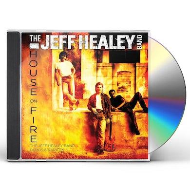 Jeff Healey HOUSE ON FIRE: DEMOS & RARITIES CD