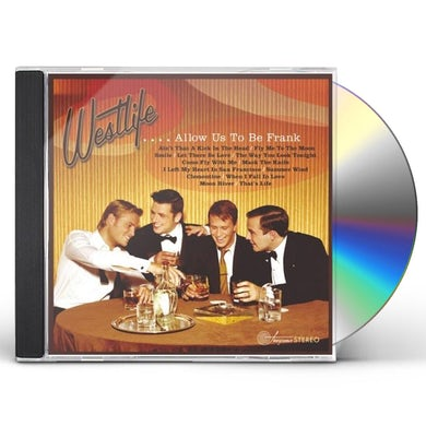 Westlife ALLOW US TO BE FRANK CD